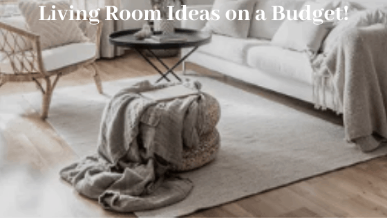living room ideas on a budget