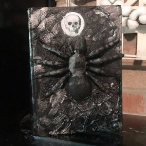 black diy spell book