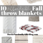 10 affordable fall throw blankets