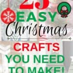 25 easy christmas crafts you need to make