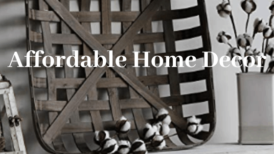affordable home decor - cheap farmhouse home decor