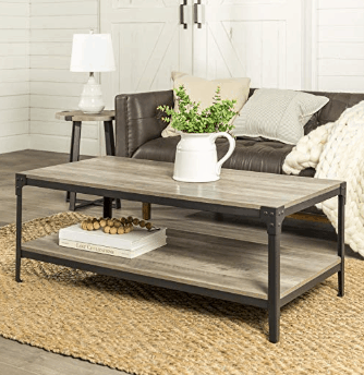 15 Affordable Farmhouse Coffee Table White Rustic Wood 5 Decor Tips