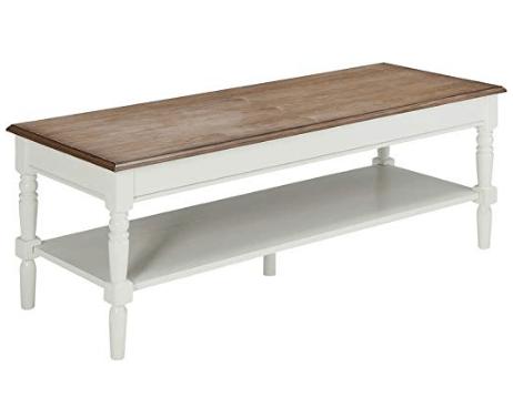 farmhouse coffee table white
