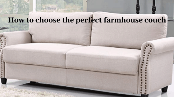 farmhouse couch