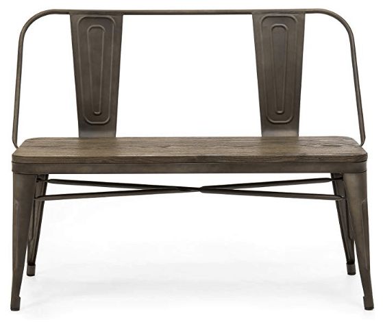 farmhouse entryway bench